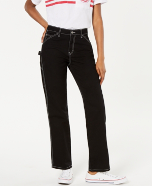 Dickies Relaxed Fit Carpenter Pants In Black