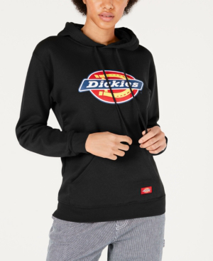 Dickies Logo-print Hoodie In Black