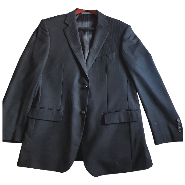 Azzaro Black Silk Suits