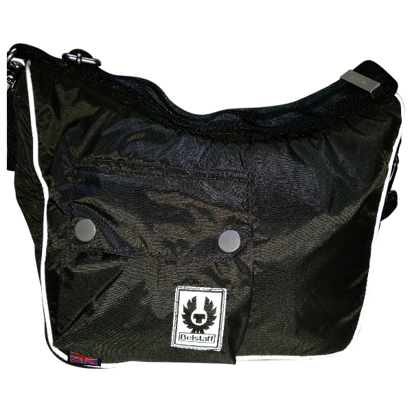 Belstaff Green Cloth Handbag