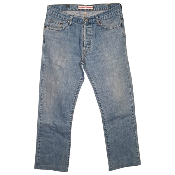 Pre-owned Carrera Blue Cotton Jeans