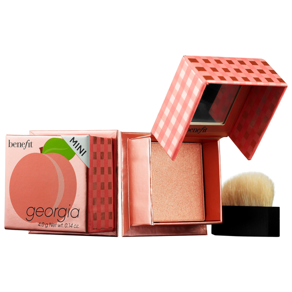Benefit Cosmetics Georgia Blush Mini 0.12 oz/ 3.5 G