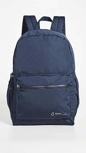 Barbour Weather Comfort Backpack In Navy