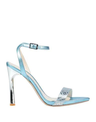 Gianni Marra Sandals In Sky Blue