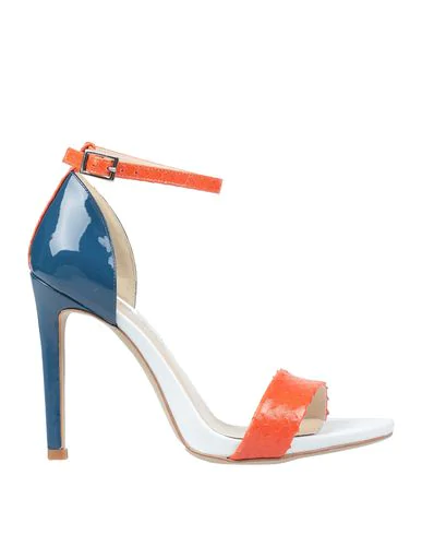 Gianni Marra Sandals In Orange