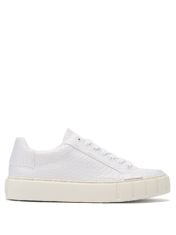 Primury Dyo Technical-canvas Trainers In White
