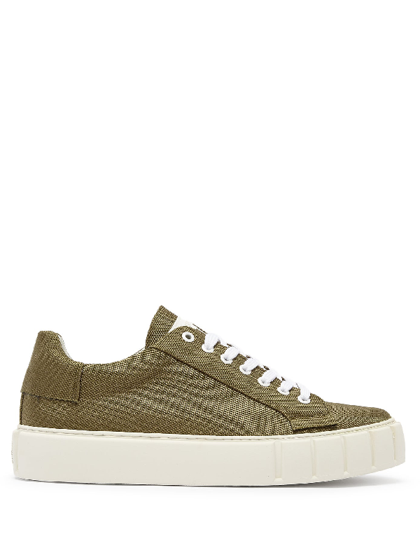 Primury Dyo Technical-canvas Trainers In Green
