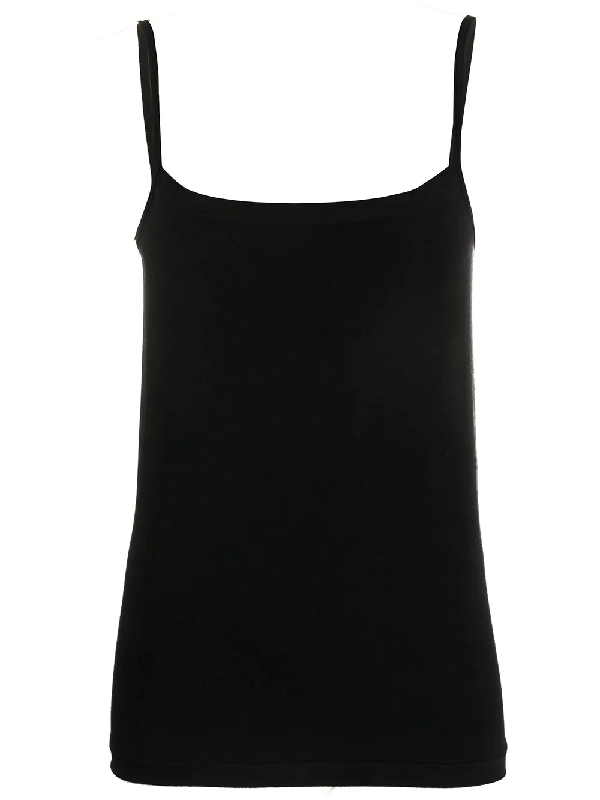 Wolford Hawaii Vest Top In Black