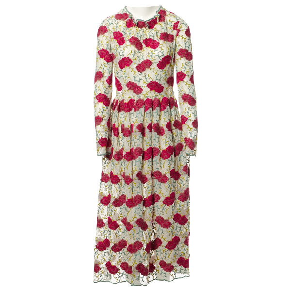 Luisa Beccaria Multicolour Cotton Dress