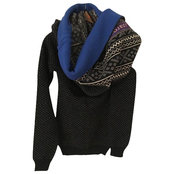 Y/project Black Wool Knitwear