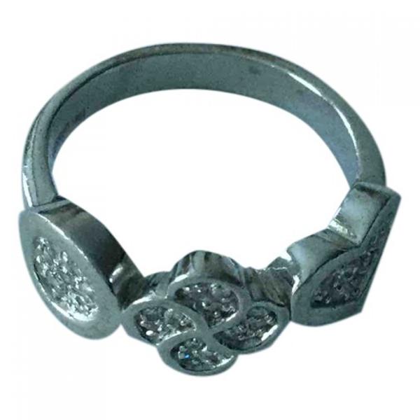 Pre-owned Cerruti 1881 Silver Silver Ring