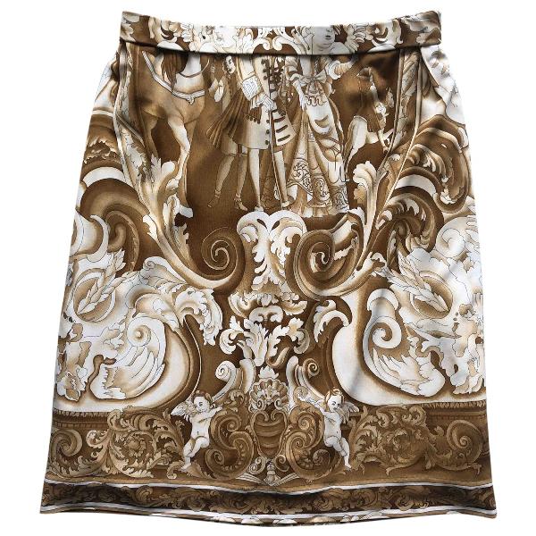 Pre-owned Leonard Multicolour Silk Skirt