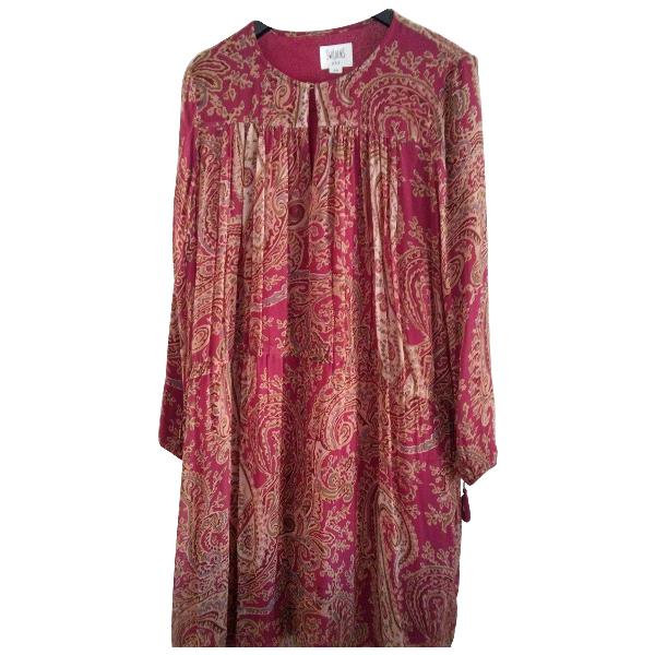 Swildens Burgundy Dress