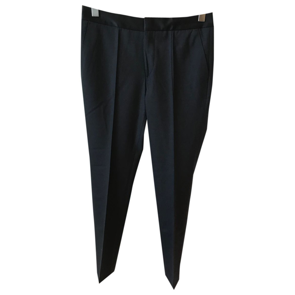 Pre-owned Chloé Stora Black Trousers