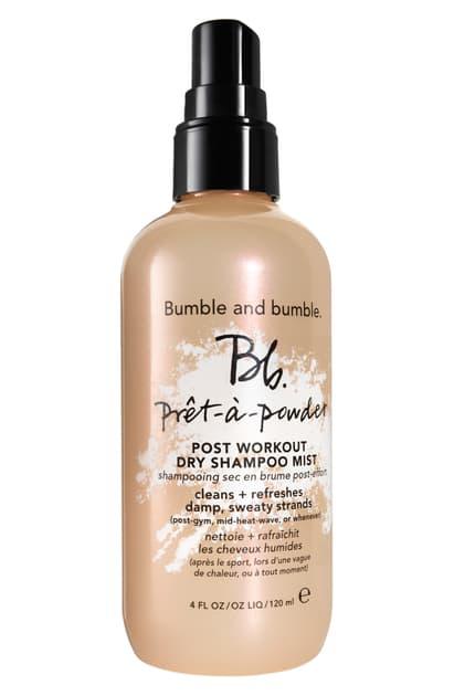 Bumble And Bumble Pret-a-powder Post Workout Dry Shampoo Mist 4 oz/ 120 ml