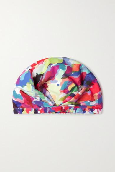 Shhhowercap The Fetti Printed Shower Cap - Pink