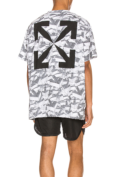 Off-white Arrows Pattern Over Tee In All Over