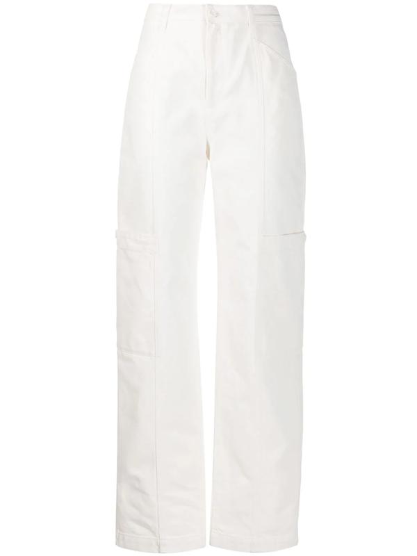 Filippa K Joy Loose Fit Trousers In White