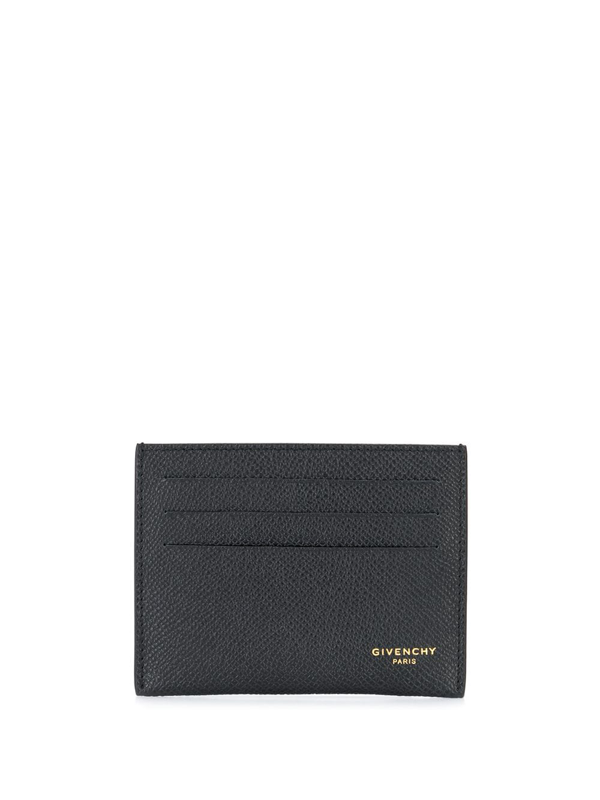 Givenchy Eros Long Flap Wallet In Black