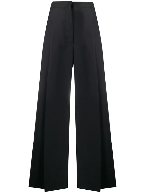 Camilla And Marc Clementine Wide-leg Trousers In Black