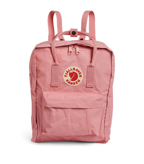 Fjall Raven Kånken Logo Badge Backpack In Pink