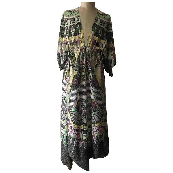 Roberto Cavalli Beachwear Cotton Dress