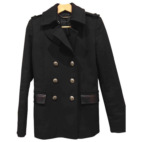 Barbara Bui Black Wool Coat