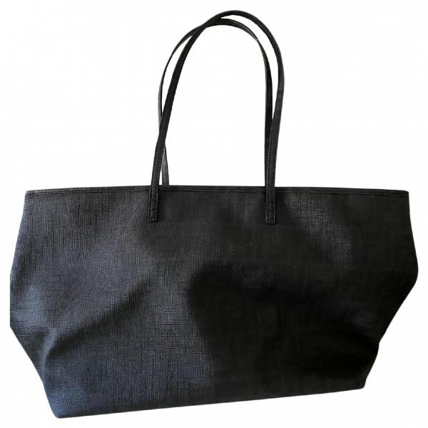 Fendi Roll Bag  Black Cloth Handbag
