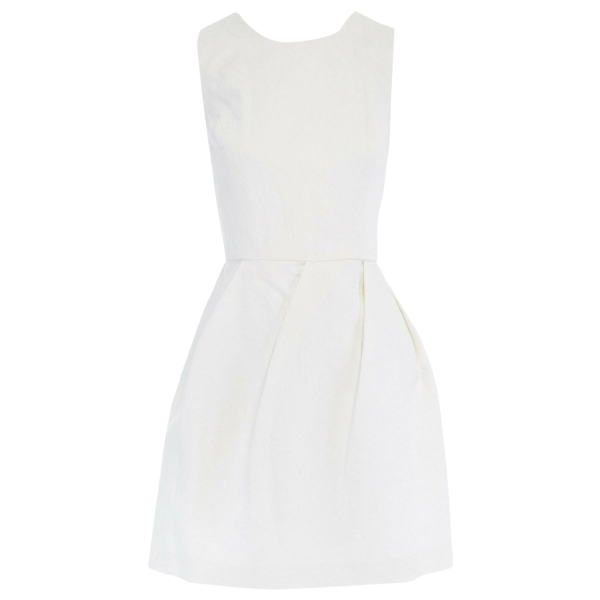 Erin Fetherston White Cotton Dress