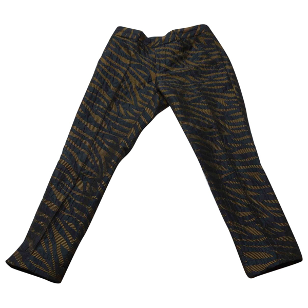 Pre-owned Chloé Stora Multicolour Trousers