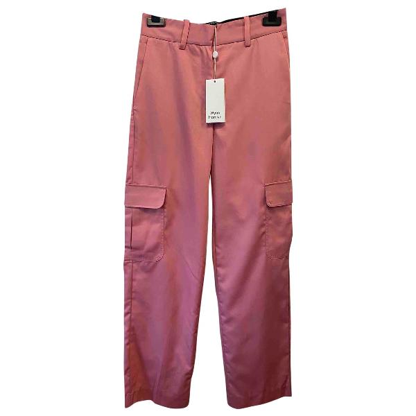 Wynn Hamlyn Pink Trousers