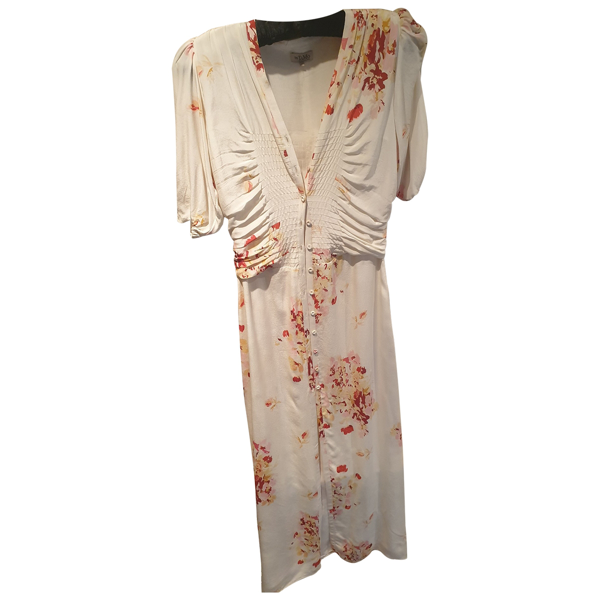 Pre-owned By Timo Silk Dress