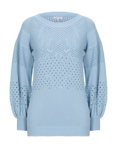 Borbonese Sweater In Sky Blue