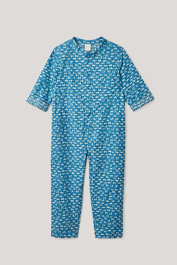 Cos Kids' Printed Jumpsuit In Blue