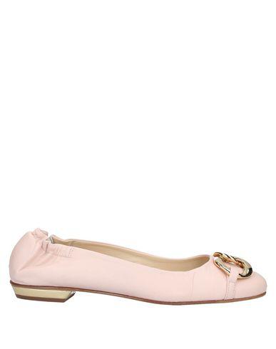 Gianna Meliani Ballet Flats In Light Pink