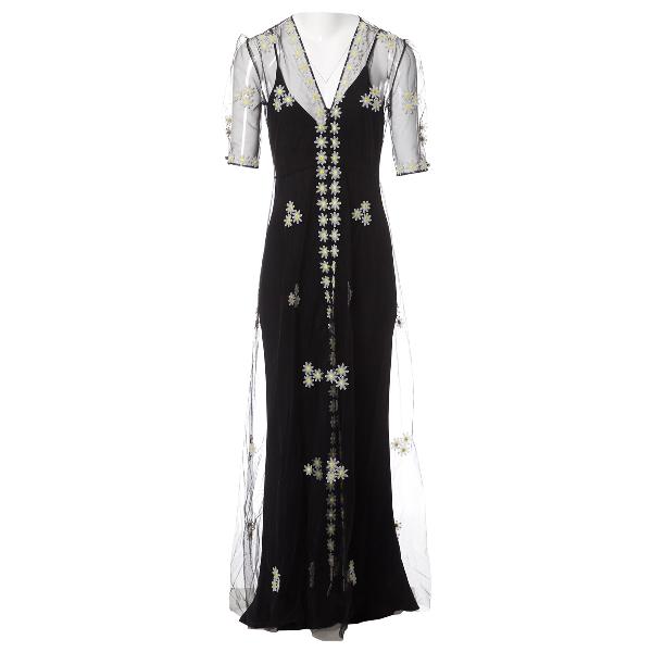 Luisa Beccaria Black Dress