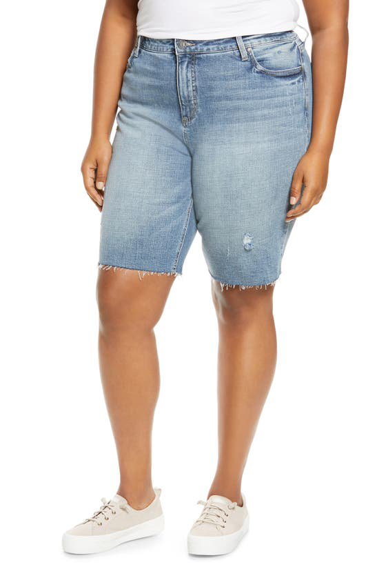 Kut From The Kloth High Waist Bermuda Shorts In Eagerness