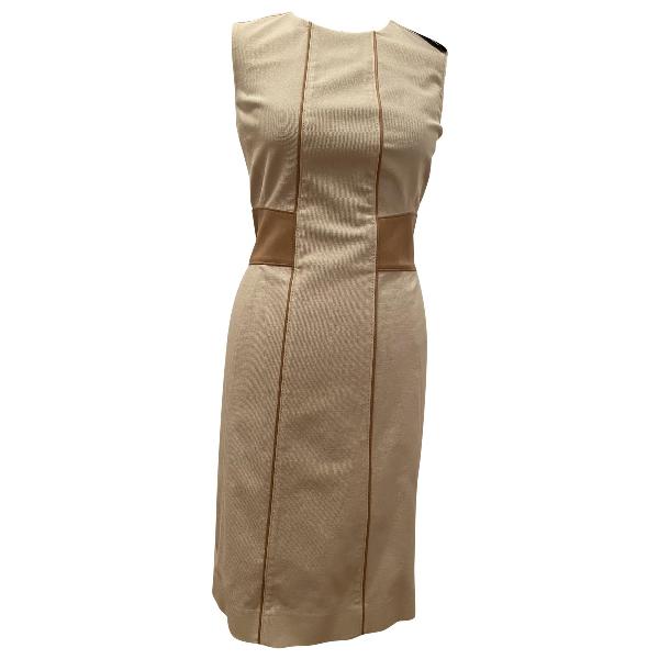 Belstaff Ecru Cotton Dress