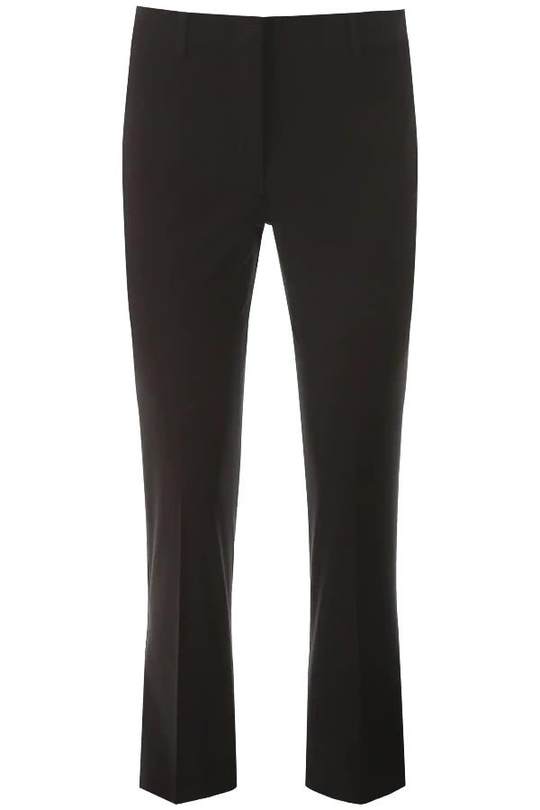 Weekend Max Mara Osella Slim Pants In Black