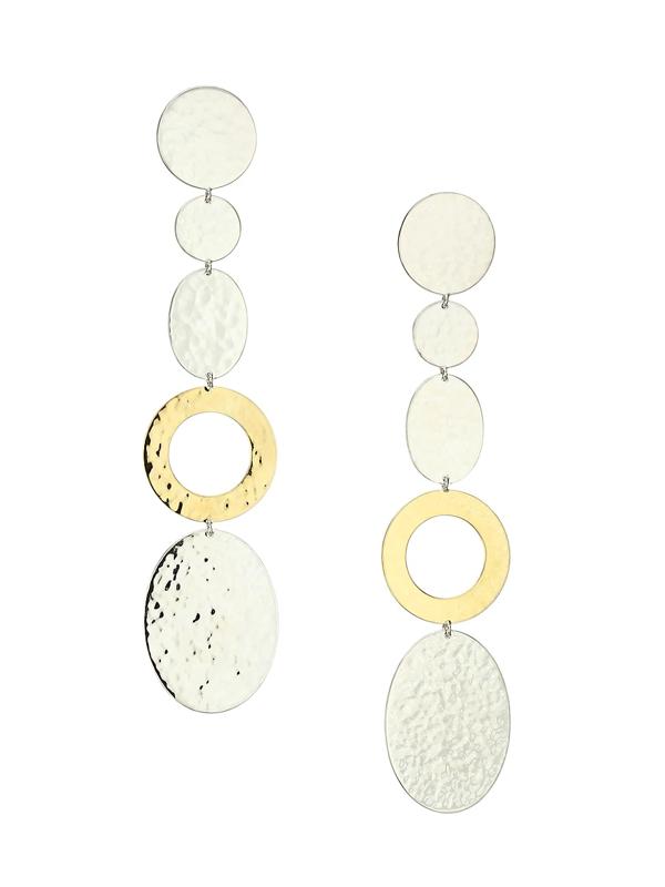 Ippolita Women's Classico Chimera Two-tone Mixed-shape Linear Earrings In Silver