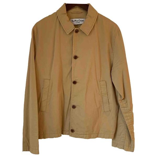 Ymc You Must Create Camel Cotton Jacket