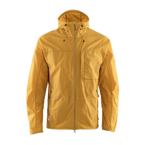 Fjall Raven Fjallraven High Coast Wind Jacket - Ochre In Yellow