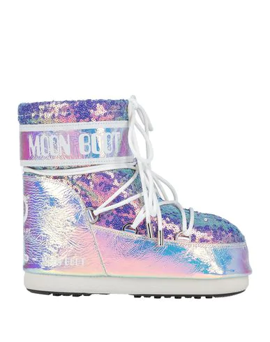 Moon Boot Boots In Purple