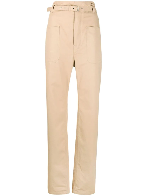 Isabel Marant Tailored Trousers In Brown