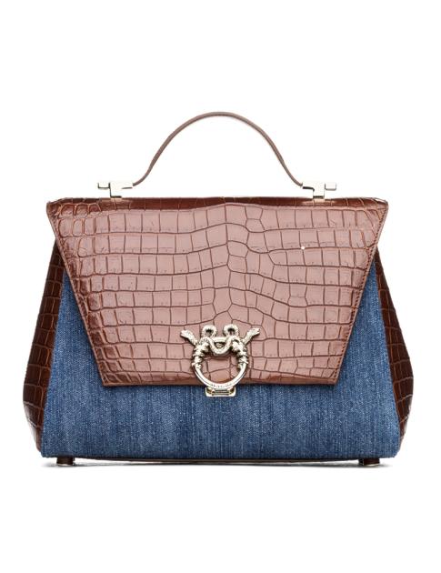 Magri Lady Clare Shoulder Bag In Brown