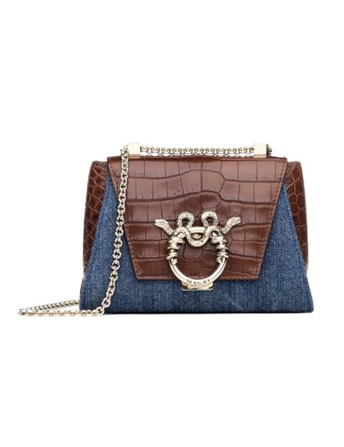 Magri Piccola Principessa Shoulder Bag In Brown