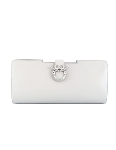 Magri Luludo Clutch In White