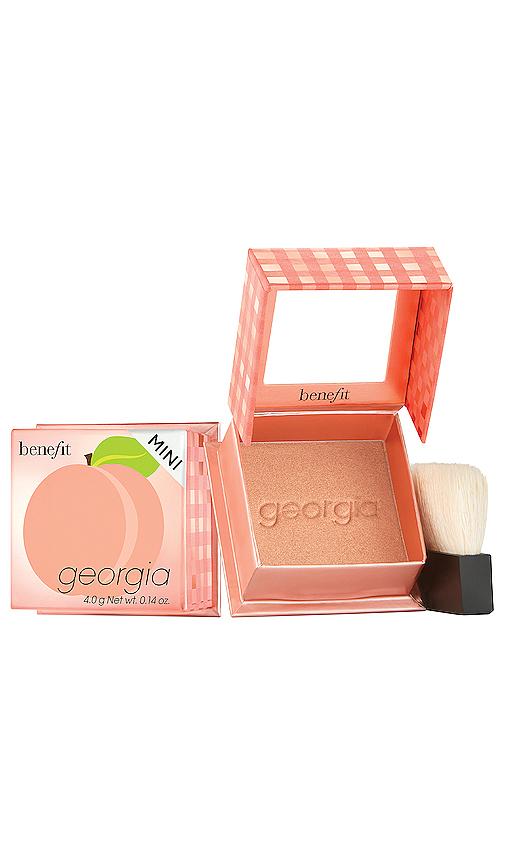 Benefit Cosmetics Mini Georgia Golden Peach Powder Blush In N,a