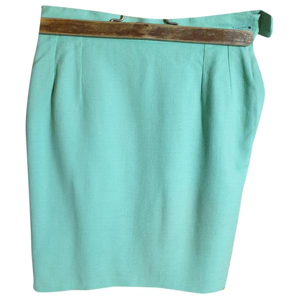 Leonard Green Cotton Skirt