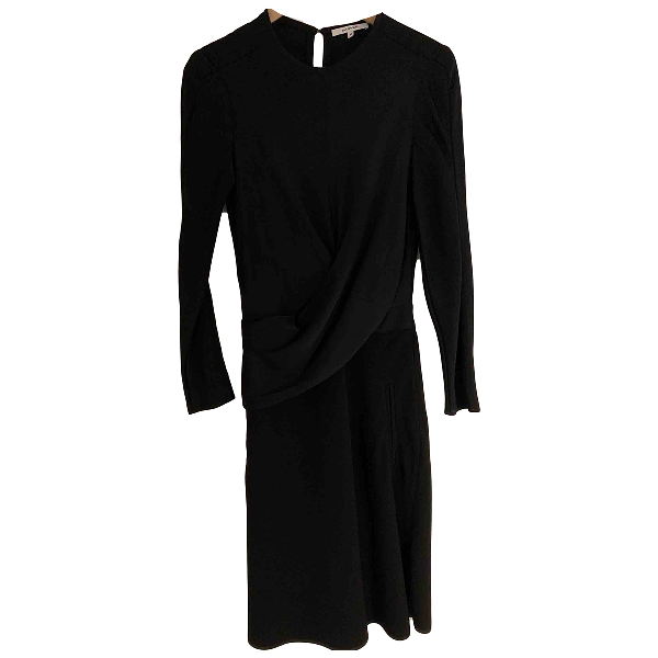 Carven Black Wool Dress